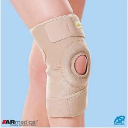 Neoprenowy stabilizator stawu kolanowego zapinany
