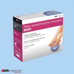 Piłka rehabilitacyjna masująca MIDI - ARMEDICAL