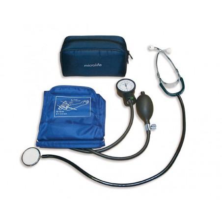 Skórzane trampki profilaktyczne - niebieskie DAWID