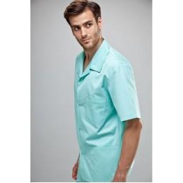 ELDAN Bluza medyczna męska IGOR krótki rękaw